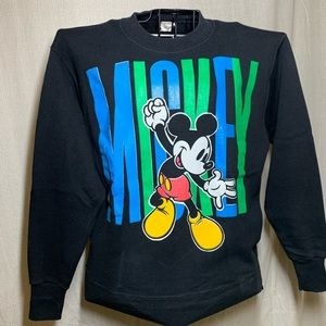 VTG Mickey Mouse Crewneck Sweater Mens Medium
